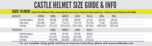 Castle Mode Dual-Sport SV Motorcycle Helmet (3XL, Matte Black) by Castle (Image #3)
