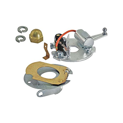 MACs Auto Parts 28-20936 Model A Ford Modern Distributor Plate Kit