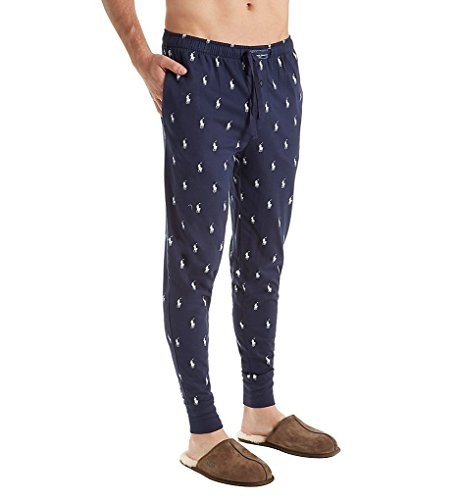 Polo Ralph Lauren  Men's All Over Pony Player Knit Jogger Navy Underwear by Polo Ralph Lauren