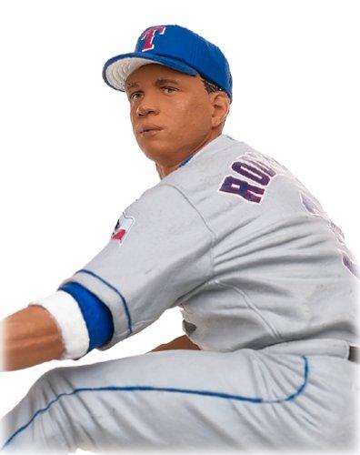 McFarlane MLB Series 8 Alex Rodriguez Action Figure Texas Rangers Grey Chase Variant