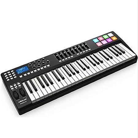 tecla teclado arreglador profesional teclado midi teclado ...