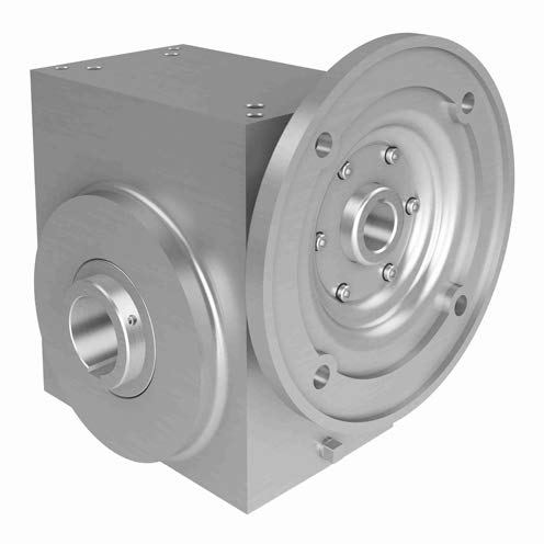 SSW325 25/1 B WR 182TC 2.188 Right Angle Worm Gear Speed Reducer - Single Reduction, 25:1 Ratio, 3.25 in Center Distance, C-Face Quill, 1.1250 in Input Size, 182TC Frame ()