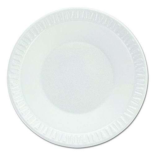 Dinnerware Non Laminated Foam (Dart 35BWWC Concorde Non-Laminated Foam Dinnerware, Bwls, 3.5-4 Oz, White, Round, Pack of 125 (Case of 8 Packs))