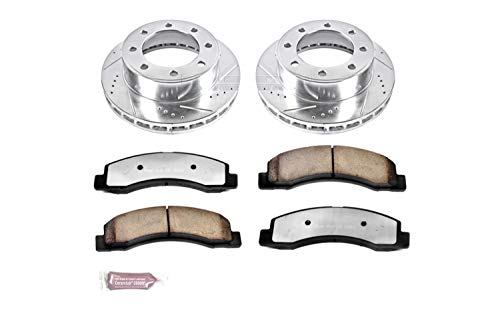 Power Stop K1905-36 Z36 Truck & Tow Front Brake Kit