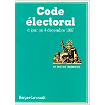 CODE LECTORAL 12ÔME DITION