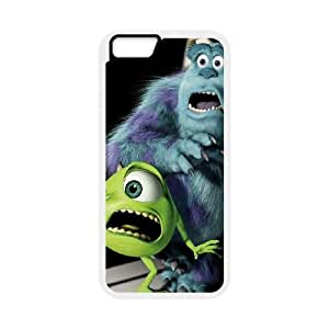 Monsters, Inc iPhone 6 Plus 5.5 Inch Cell Phone Case White Fmvtn