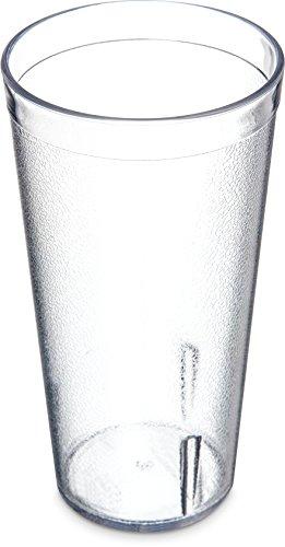Carlisle Food Service Tumbler - Carlisle 5220-8107 BPA Free Plastic Stackable Tumbler, 20 oz., Clear (Pack of 6)