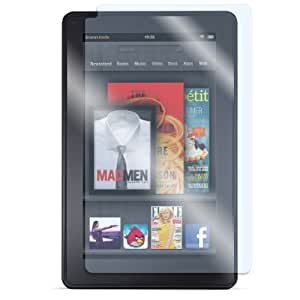 MiniSuit Screen Protector/LCD Guard for Amazon Kindle Fire (Newest Anti-Glare, Anti-Fingerprint, Ultra-Clear, Transparent) (Clear)