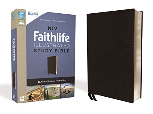 NIV, Faithlife Illustrated Study Bible, Premium Bonded Leather, Black: Biblical Insights You Can See (Premium Bonded Leather)