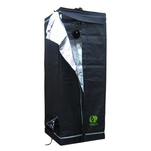 Indoor Grow Tent – 2 ft x 2 ft – Thermal Protected – Multiple Intake Exhaust Ports – Waterproof Floor – GL60 by GrowLab