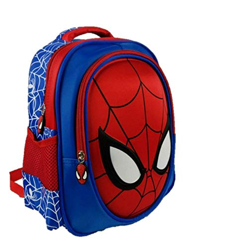 ManalCorp Spiderman Kids Backpack with SPIDERMAN WEB SHOOTER TOYS INCLUDED AS A FREE GIFT!!!,(A)]()