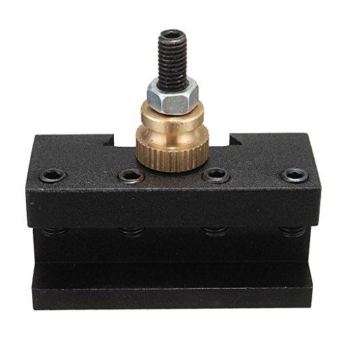 gazechimp Quick Change Turning Facing Boring CNC Tool Post Holder (1/4-1/2inch), Mini Lathe Tool