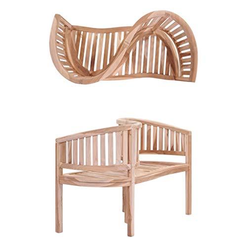 (Furniture Outdoor Furniture Outdoor Seating Outdoor Benches Garden Bench 47.2鈥?Solid Teak)