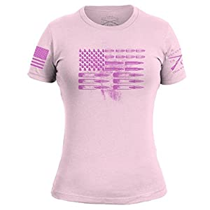 Grunt Style Ammo Flag Ladies T-Shirt
