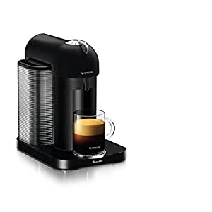 Nespresso Vertuo Coffee and Espresso Machine by Breville, Matte Black