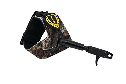 Hurricane Release Buckle - TruFire Hurricane Buckle Archery Compound Bow Release - Adjustable Camo Buckle Wrist Strap