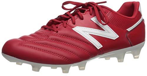(New Balance Men's 442 Team V1 Classic Soccer Shoe, Scarlet/White, 10.5 2E US)