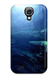 Hot Rain Earth First Grade Tpu Phone Case For Galaxy S4 Case Cover