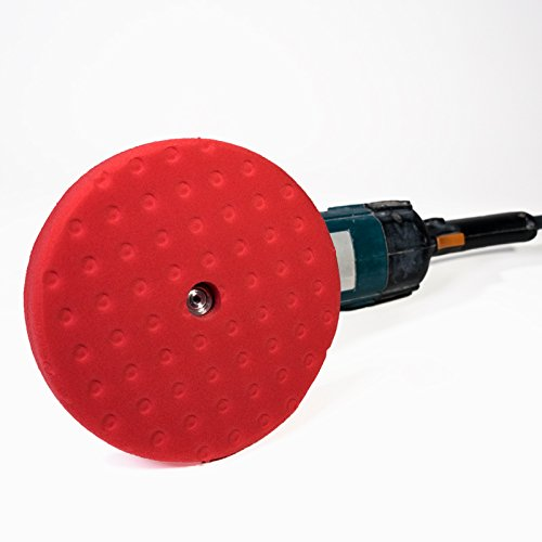 Lat 26 Red Finishing Pad w/CCS Tech - Double Sided