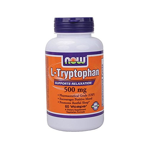 L Tryptophan 500mg 60 Vcaps