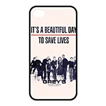 Personalized Customize Grey's Anatomy Silicon iPhone 5/5s Case Cover, Best Durable Grey's Anatomy iPhone 5/5s Case