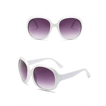 Amazon.com: Haluoo Gafas de sol grandes redondas de gran ...