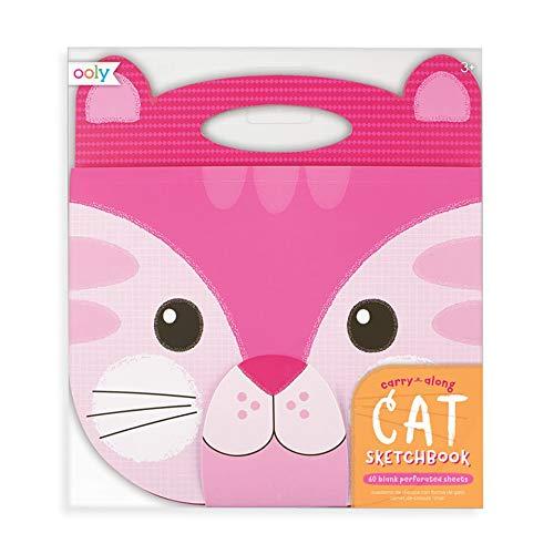 OOLY Carry Along Sketchbook - Cat