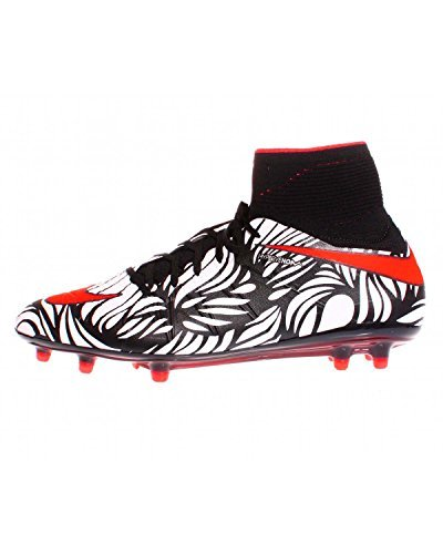 competitive price a7b9b c7292 Nike Hypervenom Phantom II NJR FG Black Bright Crimson-White Noir Blanc  Cramoisi VIF Shoes Buy Online at Low Prices in India - Amazon.in