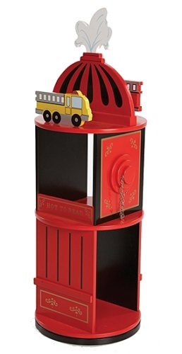 Wildkin Firefighter Revolving Bookcase