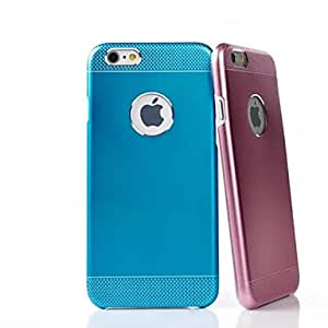ZL Wave Point Two Metal Back Cover for iPhone 6 (Assorted Color) , Golden
