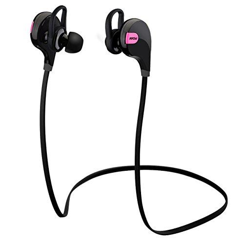 Mpow Swift Auriculares Eestéreo Bluetooth 4.0 para Correr, Cascos Deportivos y Resistente al Agua y Audor. con Tecnología...