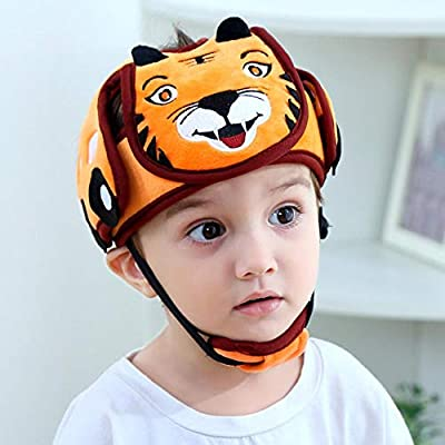 Baby Children Safety Helmet Adjustable Toddler Protective Harnesses Cap Safety Head Protector