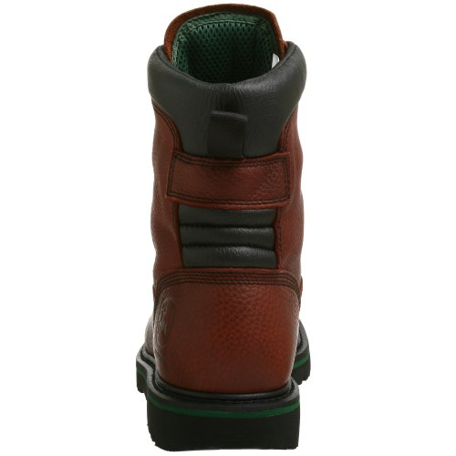 John Deere Mens Jd8283 Stivali Marrone Scuro