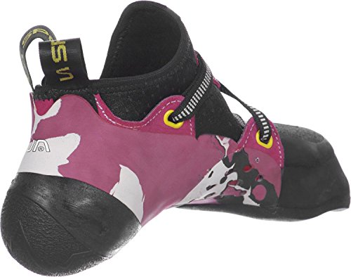 La Sportiva Solution W Zapatos de escalada weiß/pink
