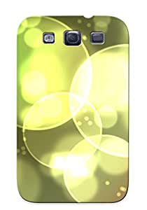 Catenaryoi Cute Tpu AwDfzLa814ZAhxp Blurry Bubbles Case Cover Design For Galaxy S3