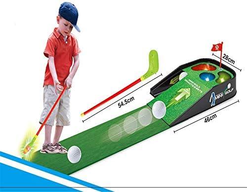 キッズスポーツ ゴルフ 子供向けゴルフ練習セットスポーツ用玩具誕生日プレゼント男の子女の子用おもちゃ (色 : As picture, サイズ : ワンサイズ)