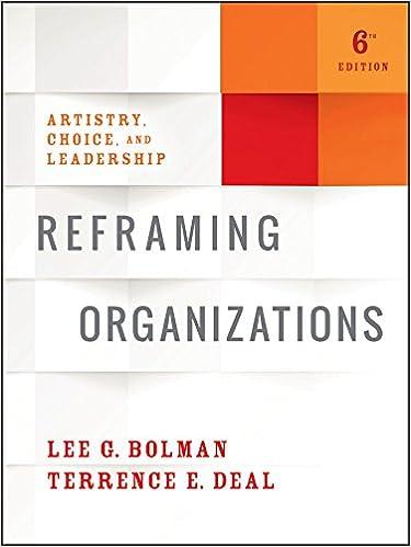 Reframing Organizations Ebook