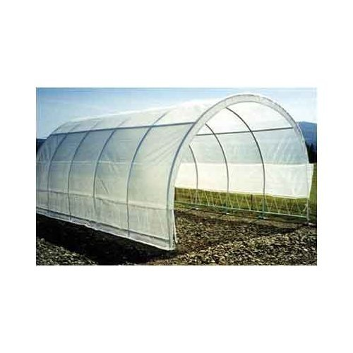 Greenhouse-Weatherguard Walk In Arched Top Garden Hot House Fully Enclosed - Screend Windows for Ventilation, Zippered Door (12