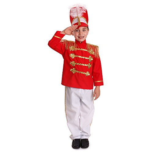 Dress Up America Boys Fancy Drum Major Costume Kids Fancy Marching Band Outfit