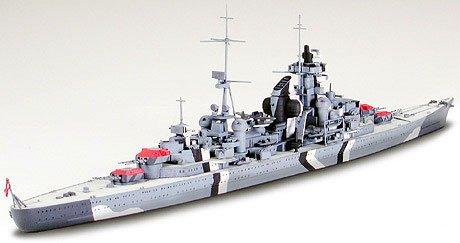 Amazon.com: Tamiya Modelos – 1/700 Prinz Eugen alemán Heavy ...