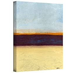 Art Wall Jan Weiss Big Sky Country Ii Gallery Wrapped Canvas Art, 32 By 24-inch