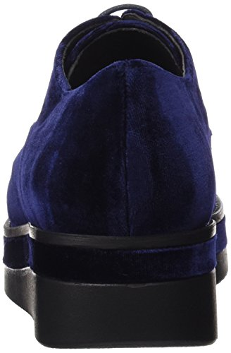 velvet Derby Stringate Velvet Blu Navy Gadea Scarpe Donna qwHOAYtf