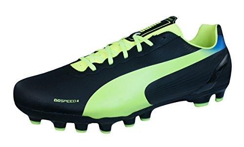 Puma evoSPEED 4.2 AG 102870 - Zapatillas de fútbol para hombre Schwarz / Grün