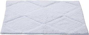 Homefurry Cotton Bath Mat   50 x 80 Cm, White