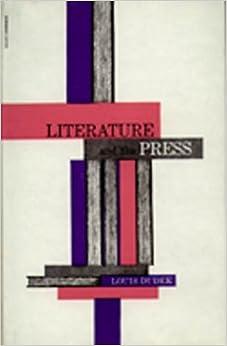 Libros Ebook Descargar Literature And The Press Gratis PDF
