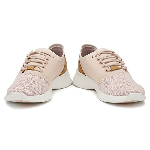 Mujer Natural Blanco Zapatillas Pink Off 118 Lacoste Fit nude LT 2 AUqd15Sxw