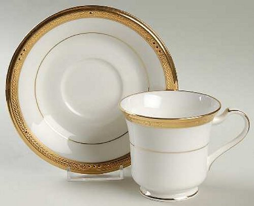 Noritake Chatelaine Gold Saucer Plate