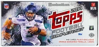 (2014 Topps NFL Football Factory Sealed Set Hobby Box)
