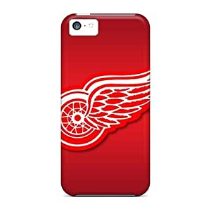 New Evanhappy42 Super Strong Detroit Red Wings Cases Covers For Iphone 5c