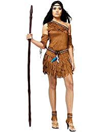 Adult Pow Wow Indian Costume - Native American - Pocahontas